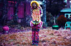 #Trousers #Blazer  #Nova Chiu Blazer, trousers, shoes and headband by Nova Chiu    Photography: Mark Shearwood  Fashion Director: Guy Hipwell