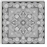 Gallery.ru / Фото #94 - efr - karadima Filet Crochet, Beaded Embroidery, Doilies, Beads, Rugs, Home Decor, Stitches, Bedspreads, Crochet Magazine