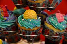 .:Lunch Box Lane:.: Little Mermaid Cupcakes