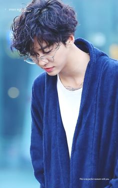 "Yongguk {Body Lotion vibes. I'm getting from this look.} ""Just like your body lotion.."""
