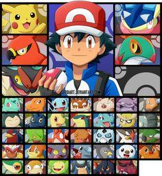 While I don't prefer the anime as the best form of Pokemon storytelling, it has its moments. Pokemon Ash Ketchum, Ash Pokemon Team, Pokemon Memes, All Pokemon, Pokemon Fan Art, Ash From Pokemon, Cool Pokemon Wallpapers, Cute Pokemon Wallpaper