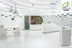 Thiết kế nội thất cửa hàng kính mắt