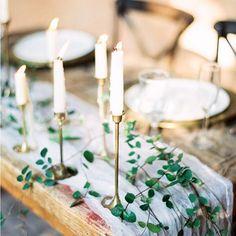 Beautiful table details via @magnoliarouge #weddinginspiration #wedding #weddingtable #weddingdecor #candles by roseanddelilah