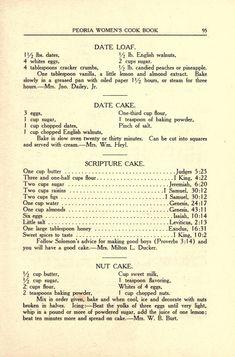 Old Recipes, Vintage Recipes, Cookbook Recipes, Dessert Recipes, Cooking Recipes, Cooking Ideas, Yummy Recipes, Desserts, Vintage Cooking