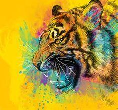tigers art - Bing im