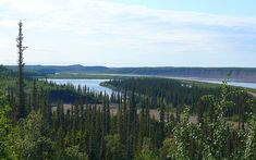 13) The Mackenzie River is the largest river system in Canada. It flows through a vast, isolated region of forest and tundra entirely within the country's Northwest Territories, although its many tributaries reach into four other Canadian provinces and territories.