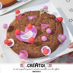 Mon gâteau d'anniversaire - Réalise un gâteau d'anniversaire original et unique avec l'aide de Créatoi !