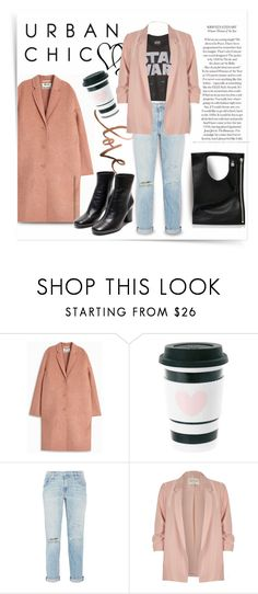 """Saturday Morning"" by city-mom ❤ liked on Polyvore featuring See by Chloé, Acne Studios, Current/Elliott, River Island, Alix, urban and polyvoreeditorial"