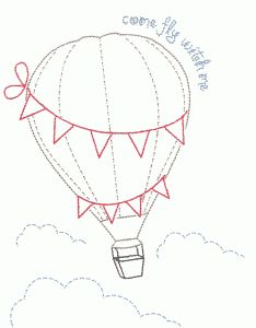 Silhouette Design Store - View Design #56430: come fly with me embroidery