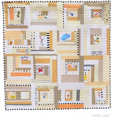 Think and Wonder Quilt » The Quilt Engineer  (a much better take on Dr. Suess quilts, IMHO)