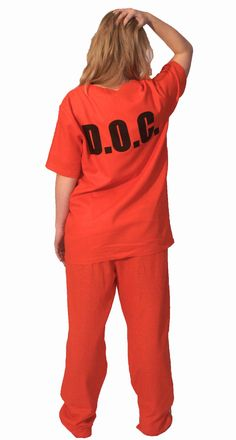 Ok, so you're going to look pretty nuts if you wear this OITNB costume around town, but hear me out...pyjamas. That's right - not only do these make a super easy cosplay - but you can also wear them to lounge and sleep in - just watch who you share your cell with!