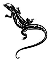 Shop our wide selection of animal wall decals to find your favorite furry critter to decorate your classroom or office with. We have of wildlife wall decals to choose from. Chameleon Tattoo, Lizard Tattoo, Black Tattoos, Tribal Tattoos, Mens Shoulder Tattoo, Animal Wall Decals, Pub, Reptiles, Lizards