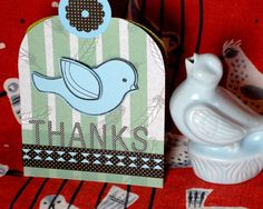 Bird Cage Thank You Card / Just Because | Fiskars