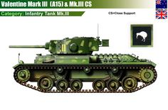 Infantry Tank Mk.III Valentine Mk.III/CS