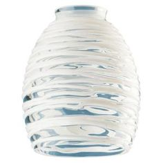 Westinghouse 5-3/4 in. Handblown Clear with White Rope Shade with 2-1/4 in. Fitter and 4-5/8 in. Width 8131400 at The Home Depot - Mobile