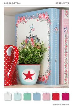 label love…GreenGate by Torie Jayne kitchen colors for new house- someday
