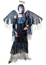 Todesengel Halloweenkostüm Damen - Details...