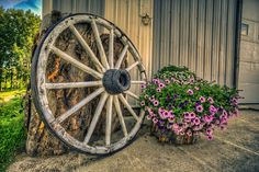 Farmlife. Like the style for in our garden!!