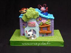 Petshop house by Crazy Cake - Cakedesigner57, via Flickr
