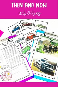 This engaging Then and Now pack will help your students to make comparisons between life in the past and today in their social studies lessons. With a range of awesome hands-on activities, printables, diorama, real photographs, QR codes and short texts - this huge history resource is no prep and easy to use making it perfect for distance learning. Social Studies Activities, Hands On Activities, Teaching History, Teaching Resources, Writing With Color, Primary School Teacher, Australian Curriculum, Qr Codes, Social Science