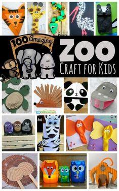 100 Amazing Zoo Animal Crafts