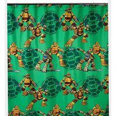 Kids, Childrenu0027s Fabric Disney, Nickelodeon, Marvel, DC Comics Shower  Curtain