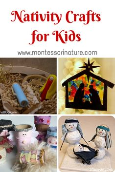 cute nativity crafts for kids