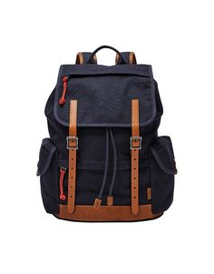 Made from cotton canvas with expertly placed pockets, this military-inspired design is ideal for carting your tech and travel accessories. *Will be shipped separately from other products Bb Shop, Travel Accessories, Cotton Canvas, Fossil, Design Inspiration, Backpacks, Military, Tech, Pockets