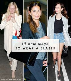 10 New Ways To Wear A Blazer Outside of The Office