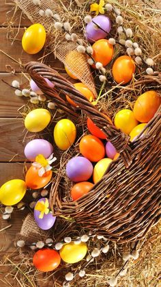 Wallpaper Easter, eggs, Holidays HD Desktop Wallpaper for Ultra HD TV April Easter, Easter Art, Easter Bunny, Happy Easter Pictures Inspiration, Ostern Wallpaper, Easter Backgrounds, Easter Egg Designs, Coloring Easter Eggs, Easter Colors