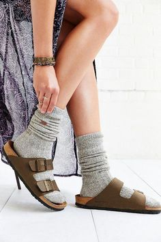 77b25c5a665e Warm and cozy soft Birkenstock socks. Material is 93% Cotton