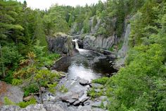 11. Gulf Hagas which is often referred to as the Grand Canyon of the East is located in the mountains of central Maine.