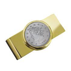 American Coin Treasures Liberty Nickel Moneyclip -, Men's