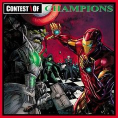 Contest of Champions #1 by Denys Cowan & Bill Sienkiewicz (based on GZA's Liquid Swords)