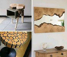 Auténticos muebles de madera reciclada