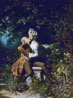 Heinrich Lossow (German, 1843-1897). The Enchantress, 1868