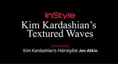 This flatiron technique is total genius for creating Kardashian-worthy waves.