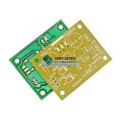 Placa p/ montar amplificador com TDA2002