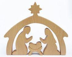 Image result for children's wooden nativity set plans