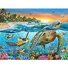 Dabixx Boat Fish 5D DIY Painting Painting by Numbers Diamonds Embroidery Painting Cross Stitch Kit DIY Home Decor 5D DIY Full Diamond Painting
