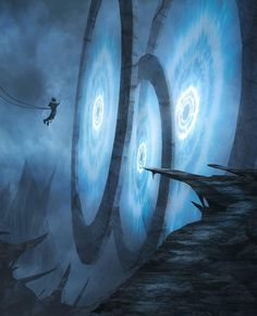 Writing Prompt: The Portal, Category citation index daily direct experiments fiction hub High Fantasy, Sci Fi Fantasy, Fantasy World, Fantasy Concept Art, Fantasy Artwork, Space Fantasy, Portal Art, Science Fiction Kunst, Photo Portrait