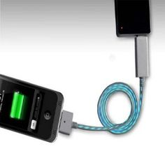Visible Light USB Charger Cable for iPhone