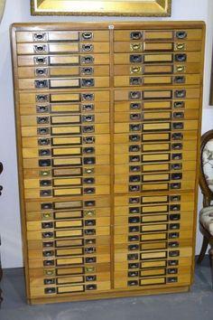 Unique 30 Drawer Storage Cabinet