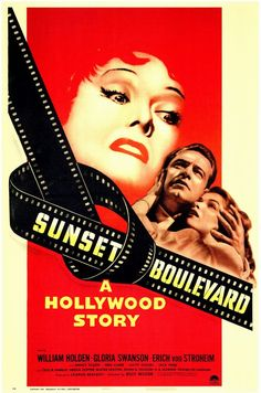 Sunset Boulevard (1950) Gloria Swanson gives one of the most amazing performances ever captured on film.  One of the best movies about movies