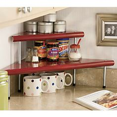 2-Tier Corner Shelf