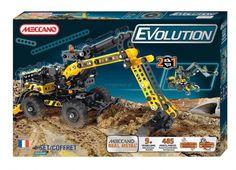 meccano evolution excavator - koparka