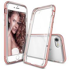 iPhone 7 Case, Ringke [Frame] Dual Layered TPU + PC Bumpe…