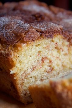 The Amazing Amish Cinnamon Bread ~ This recipe is absolutely delicious :)