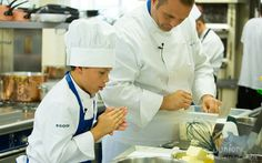 Federico e lo chef Cerea