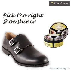 Picking the right #ShoeShiner for your shoes can make all the difference when maintaining their look. Product Code: UCSCUG13007NA #Shop now: Available at http://bit.ly/217HWRh